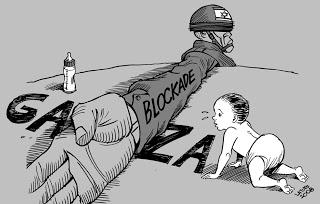 Hasil gambar untuk blokade israel